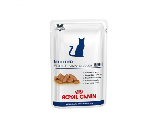 Royal Canin Vet Care Neutered Adult Maintenance 4 x 12 x 100 g