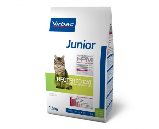 Virbac Veterinary HPM Junior Cat Neutered1.5