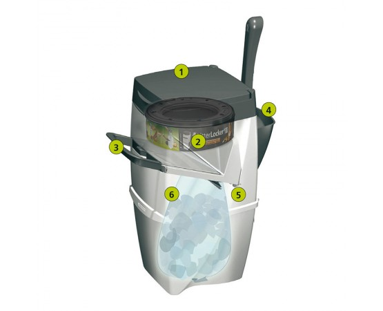 Litter Locker Entsorgungseimer II
