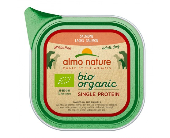 Almo Nature Bio Organic Single Protein Lachs 11 x 150 g
