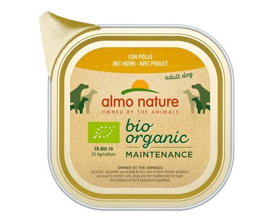 Almo Nature Bio Organic Maintenance mit Huhn 32 x 100 g