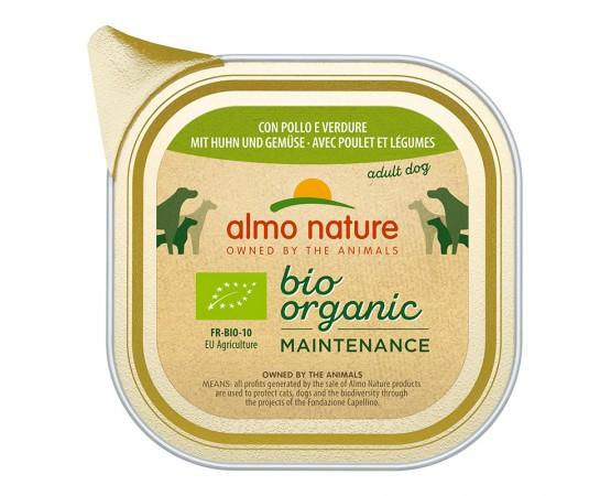 Almo Nature Bio Organic Maintenance mit Huhn & Gemüse 32 x 100 g