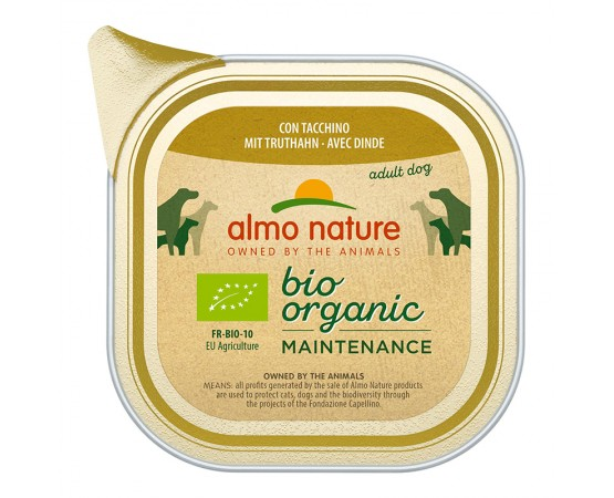 Almo Nature Bio Organic Maintenance mit Truthahn 32 x 100 g