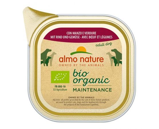 Almo Nature Bio Organic Maintenance mit Rind & Gemüse 32 x 100 g