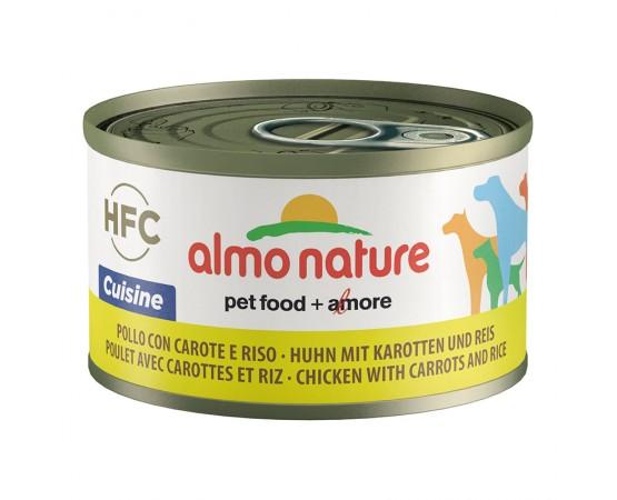 Almo Nature HFC Huhn & Karotten & Reis 24 x 95 g