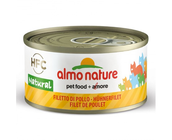 Almo HFC Natural - Dose Hühnerfilet 24 x 70 g