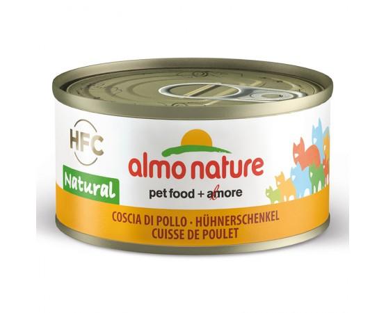 Almo HFC Natural - Dose Hühnerschenkel 24 x 70 g