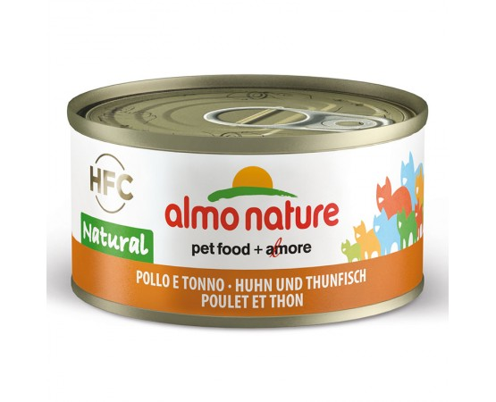 Almo HFC Natural - Dose Huhn & Thunfisch 24 x 70 g