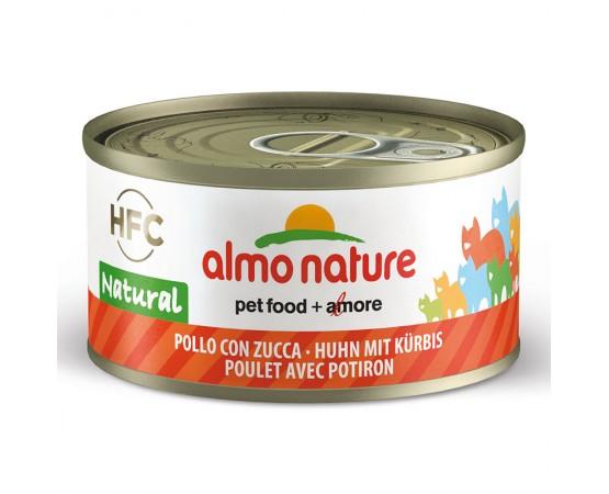 Almo HFC Natural - Dose Huhn & Kürbis 24 x 70 g
