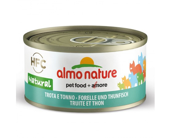 Almo HFC Natural - Dose Forelle & Thunfisch 24 x 70 g