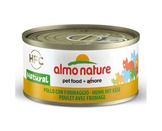 Almo HFC Natural - Dose Huhn & Käse 24 x 70 g