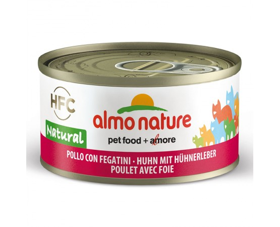 Almo HFC Natural - Dose Huhn & Hühnerleber 24 x 70 g