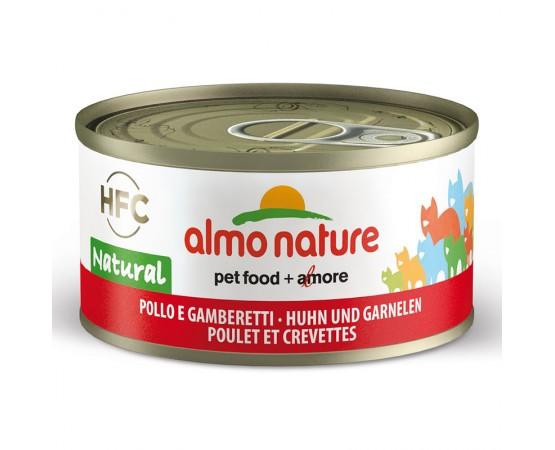 Almo HFC Natural - Dose Huhn & Garnelen