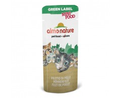 Almo Nature Green Label Mini Food - Beutel Hühnerfilet 100 x 3 g