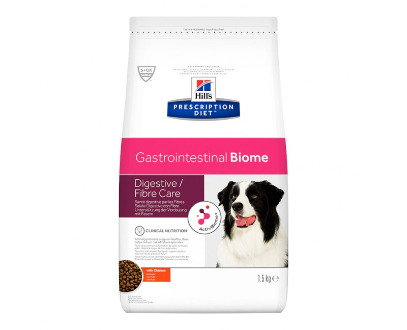 Hill's Prescription Diet Gastrointestinal Biome Trockenfutter für Hunde mit Huhn
