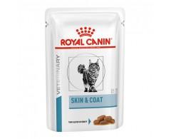 Royal Canin VHN Cat Skin & Coat Stückchen in Soße 4 x 12 x 85 g