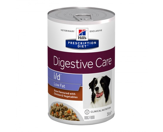 Hill's Prescription Diet Canine i/d Low Fat Ragout mit Huhn- & Gemüsegeschmack 12 x 354 g