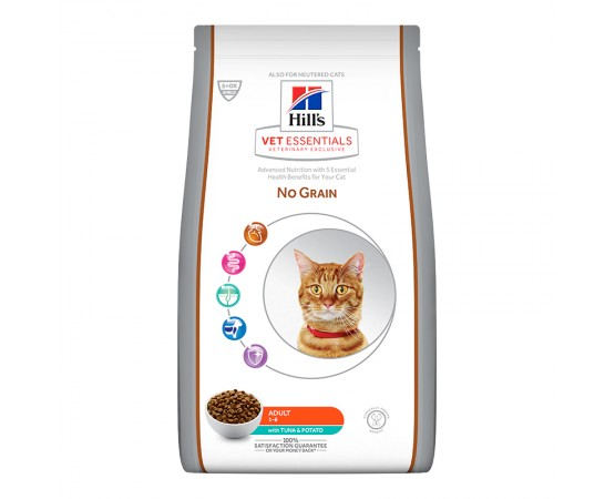 Hill's VetEssentials Feline NO GRAIN Adult mit Thunfisch & Kartoffeln