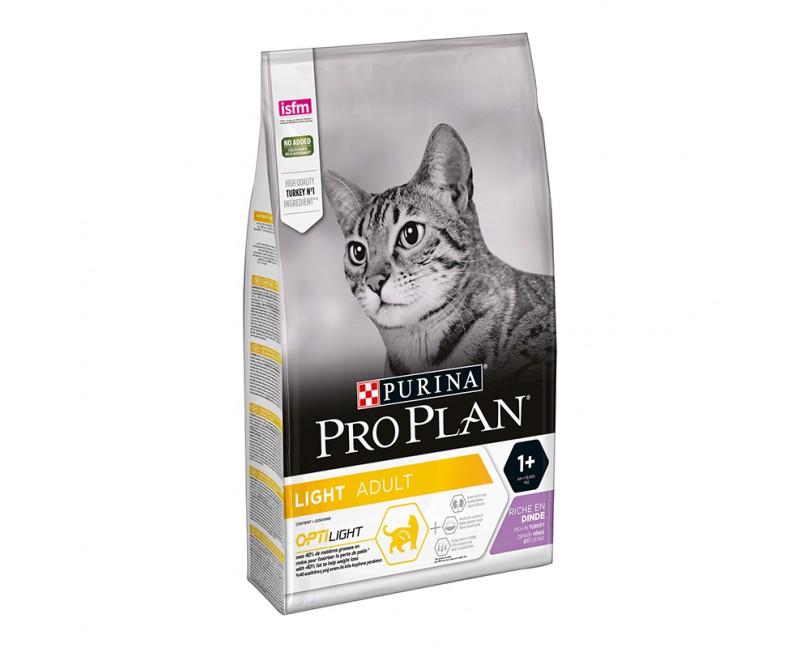 Purina ProPlan Cat Light Adult Optilight mit Truthahn 3 kg
