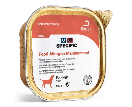 Specific CDW Food Allergy Management 6 x 300 g