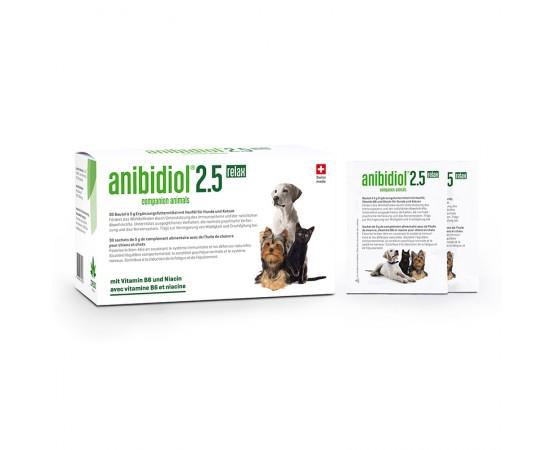 Anibidiol 2.5 relax für Hunde und Katzen 30 Beutel