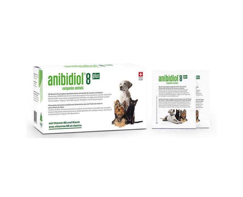 Anibidiol 8 plus für Hunde und Katzen 30 Beutel