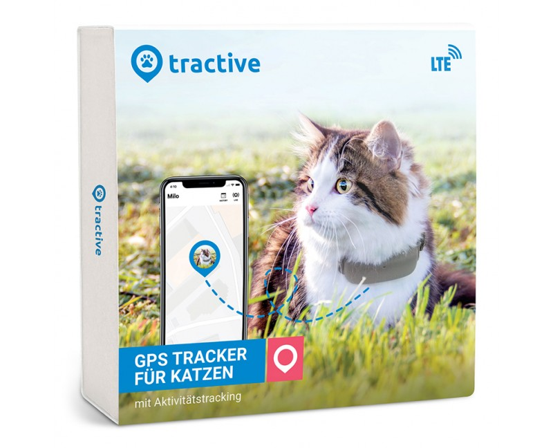 Tractive GPS LTE Tracker für Katzen