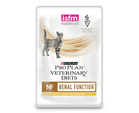 Purina Veterinary Diets Feline NF Renal Function 10 x 85 g mit Huhn