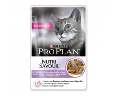 Purina ProPlan Cat Delicate Nutrisavour mit Truthahn 24 x 85 g