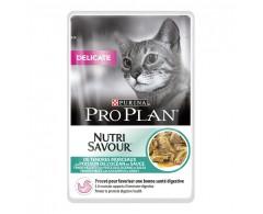 Purina ProPlan Cat Delicate Nutrisavour mit Hochseefisch 10 x 85 g