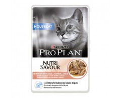 Purina ProPlan Cat Housecat Nutrisavour mit Lachs 10 x 85 g