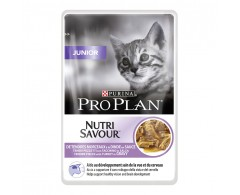Purina ProPlan Cat Junior Nutrisavour mit Truthahn 10 x 85 g
