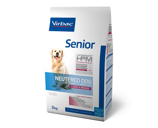 Virbac HPM Neutered Dog Large & Medium Senior