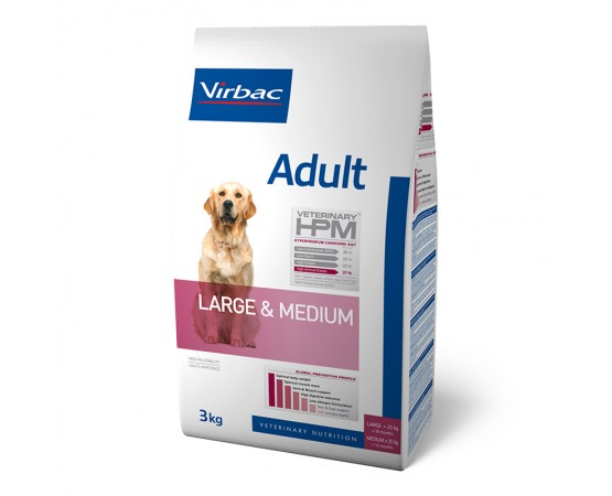 Virbac Veterinary HPM Dog Large & Medium Adult