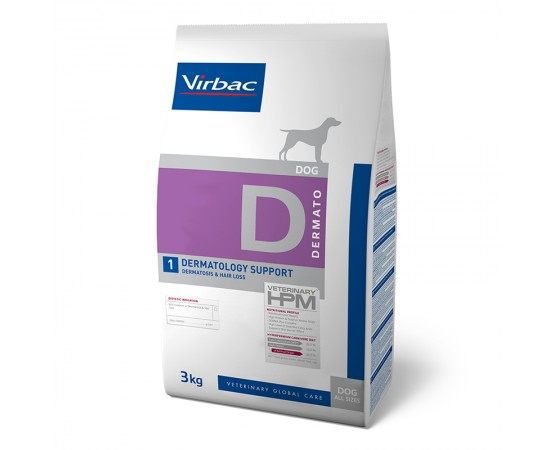 Virbac Veterinary HPM Dog Dermato D1