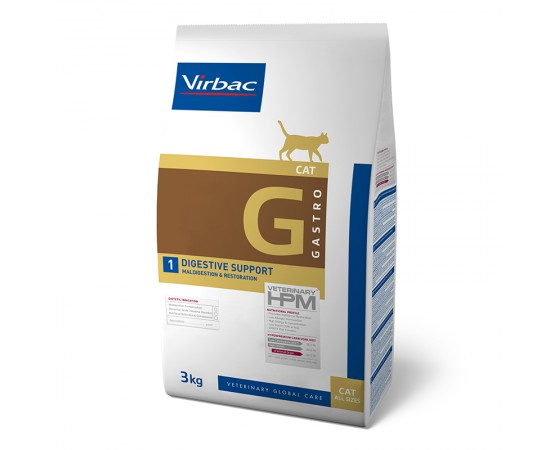 Virbac Veterinary HPM Cat Gastro G1
