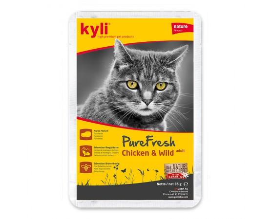 kyli Pure Fresh Chicken & Wild Adult 12 x 85 g