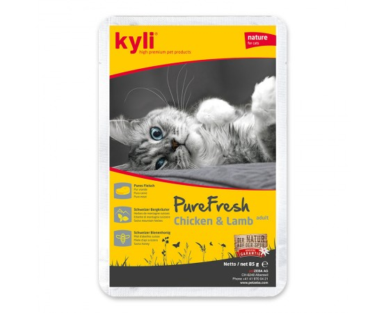 kyli Pure Fresh Chicken & Lamb Adult 12 x 85 g