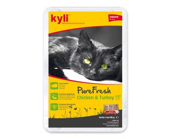 kyli PureFresh Chicken & Turkey adult / urinary-control 12 x 85 g