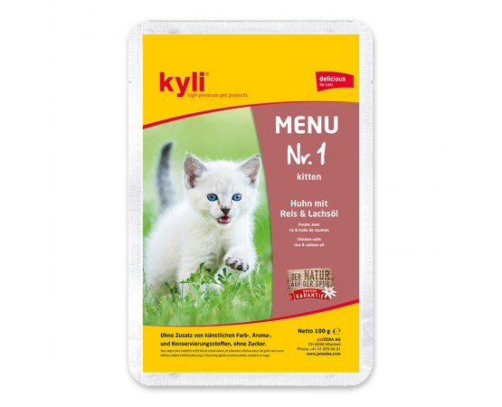 kyli Menu Nr. 1 Kitten 12 x 100 g