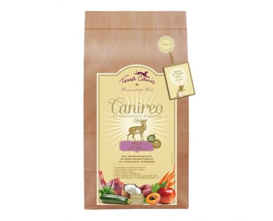 Terra canis Canireo Trockenfutter getreidefrei -Wild (mit gesundem Gemüse, Obst & Kräutern)