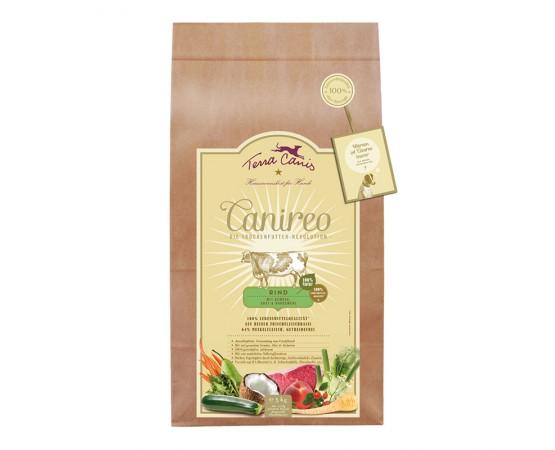 Terra canis Canireo getreidefrei -Rind (mit gesundem Gemüse, Obst & Kräutern)