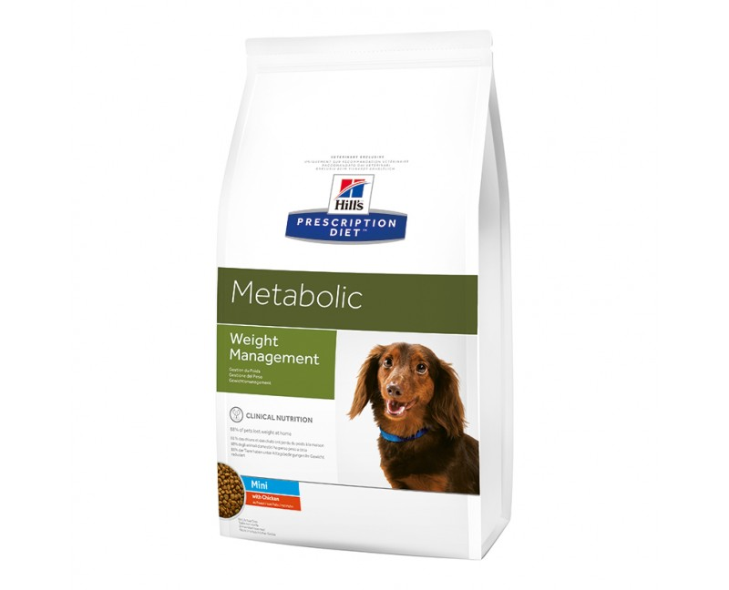Hill's Prescription Diet Canine Metabolic Mini mit Huhn