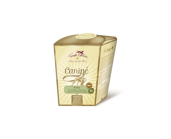 Terra Canis Canipé Knusperkugeln - Classic - Rind (mit Gemüse & Kräutern in Hirse-Parmesan-Mantel)
