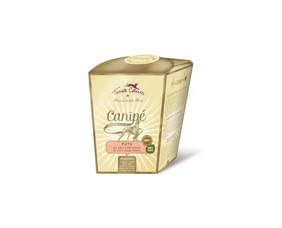 Terra Canis Canipé Knusperkugeln - Classic - Pute (mit Gemüse, Obst u. Hüttenkäse in Hirse-Kokos-Mantel)