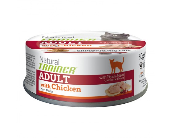 Trainer Natural Adult Huhn 24 x 80 g