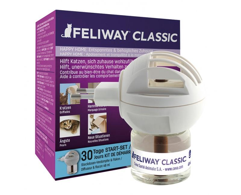 FELIWAY® CLASSIC Starter-Set (Zerstäuber mit Flakon)